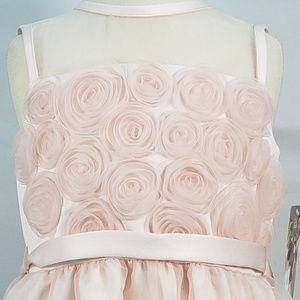 Us Angels Dresses - US ANGELS ORGANZA FLOWER GIRL DRESS STYLE 100